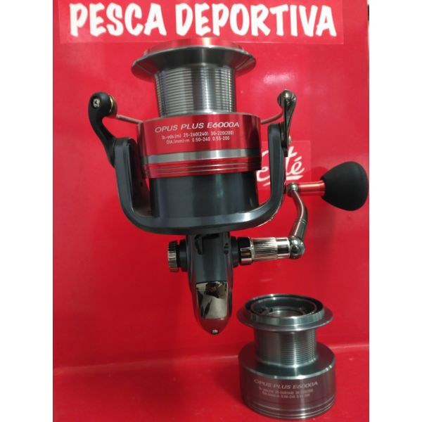 CARRETE DAIWA OPUS PLUS E 6000 A