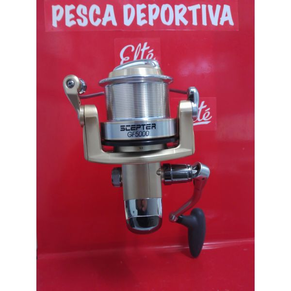 CARRETE TICA SCEPTER GF 5000 4 ROD