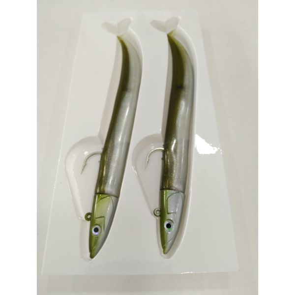 CRAZY STAND EEL 150 DOBLE COMBO OFF SHORE 20G KAKI